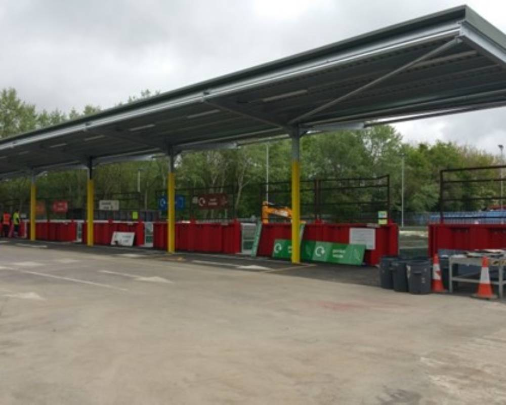 Household Waste Recycling Centre Refurbishment